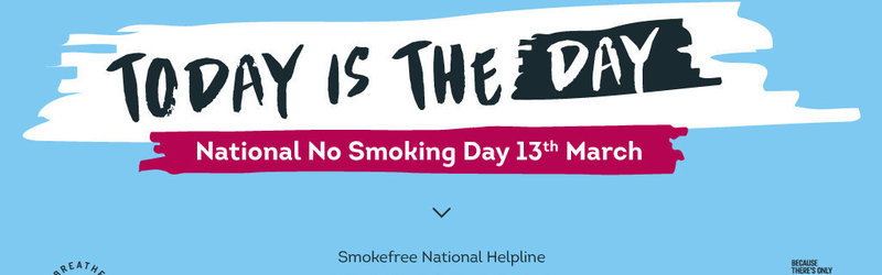 Yorkshire Smokefree are running a number of events on 13th March 2019 to celebrate No Smoking Day.