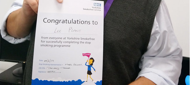 Yorkshire Smokefree Doncaster Enjoys Sucess at BT Call Centre