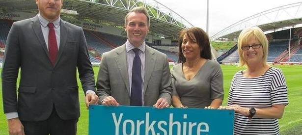 Yorkshire Smokefree Kick-off with Huddersfield Town!