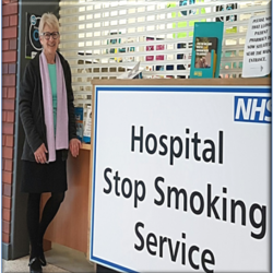Julia quit smoking with the help of Yorkshire Smokefree Wakefield and is now one year smokefree!