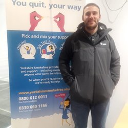 stop smoking local halifax calderdale man quits cigarettes